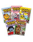 Go Go 카카오프렌즈 5권 세트(미국, 일본, 영국, 프랑스, 중국)