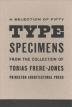 Fifty Type Specimens (Postcards)