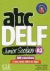 [보유](신판)Abc Delf Junior Scolaire Niveau A2 + Dvd + Livre-Web Nc
