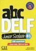 [보유](신판)Abc Delf Junior Scolaire Niveau B1 + Dvd + Livre Web Nc