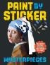 [보유]Paint by Sticker Masterpieces (스티커 아트북 - 명화)