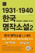 1931-1940 한국 명작소설. 2: 모던보이, 문학을 만나다(한국문학을 권하다 단편 모음집 2)