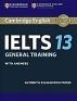 [보유]Cambridge IELTS 13 General Training Student's Book with Answers (오디오미포함)
