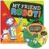 [보유]노부영 송 애니메이션 My Friend Robot! (원서 & CD)