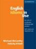 [����]English Idioms in Use : Intermediate