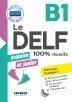 [보유]Le Delf Scolaire Et Junior  - 100% Reussite - B1 - Livre + Cd Mp3