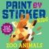 [보유]Paint by Sticker Kids: Zoo Animals (스티커 아트북 - 동물원)