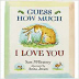 Guess How Much I Love You Book Chart