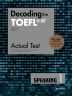 Decoding the TOEFL iBT Actual Test Speaking. 1(New TOEFL Edition)