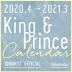 [보유]King & Prince カレンダ- 2020.4→2021.3 Johnnys'Official