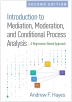 [보유]Introduction to Mediation, Moderation, and Conditional Process Analysis
