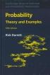 [보유]Probability: Theory and Examples