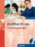 [보유]Zertifikat B1 neu. Prufungsvorbereitung. Ubungsbuch + MP3-CD: 15 Ubungsprufungen. Deutsch als Fremds