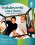 [보유]Vocabulary for the Gifted Student Grade. 3
