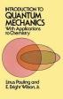 [보유]Introduction to Quantum Mechanics with Applications to Chemistry (Revised)