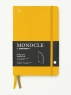 [보유]모노클 소프트커버 도트 노트 B6 옐로우(Monocle Booklinen Softcover Dot B6 Yellow)