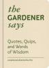 [보유]The Gardener Says