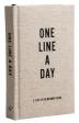 [보유]Canvas One Line a Day (하루에 한 줄, 5년의 일기 - 캔버스)