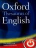 [보유]Oxford Thesaurus of English