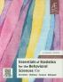 [보유]Essentials of Statistics for the Behavioral Sciences