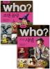 Who? 조앤 롤링 + 코코 샤넬 세트(세계 위인전 Who)(양장본 HardCover)(전2권)