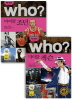 Who? 마이클 조던 + 마이클 잭슨 세트(세계 위인전 Who)(양장본 HardCover)(전2권)