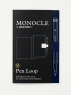[보유]모노클 펜루프 네이비(Monocle Pen Loop Navy)