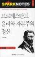 프로테스탄트 윤리와 자본주의 정신(SPARK NOTES 28)