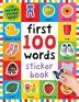 [보유]First 100 Words Sticker Book: Over 500 Stickers