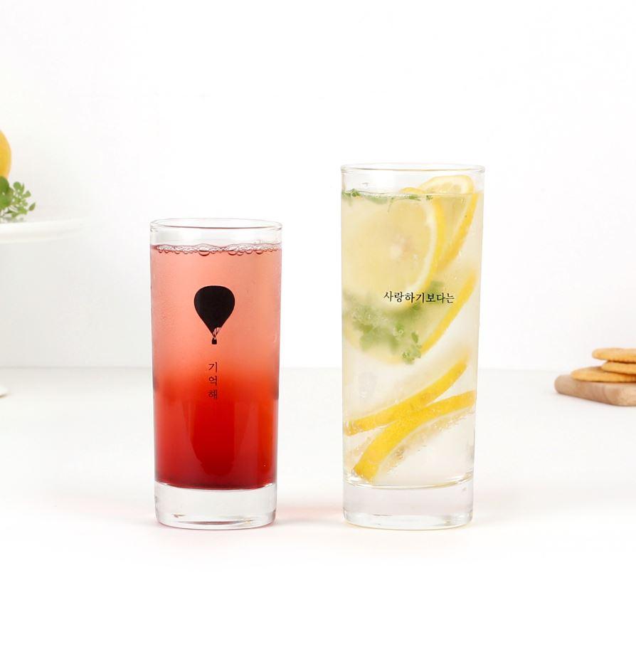 리커버X한정수량 제작 유리컵