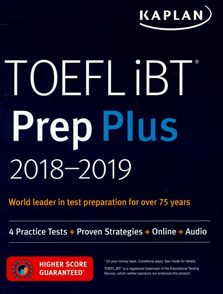 TOEFL IBT PREP PLUS 2018-2019(SET)