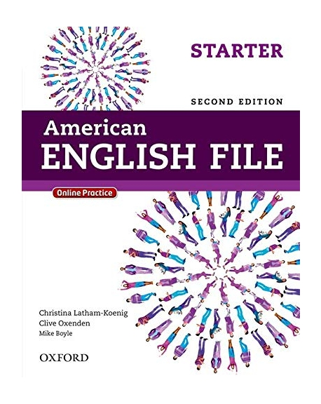 American English File 2E Starter SB with Online Practice