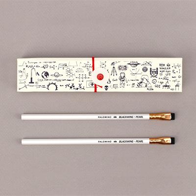 '과학자의 생각법' 디자인 케이스에 클래식한 블랙윙 연필 세트가 담긴 한정판 단독 굿즈!