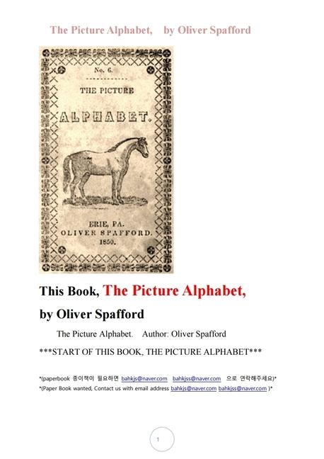 그림영어알파벳.The Picture Alphabet, by Oliver Spafford