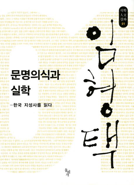 문명의식과 실학(석학인문강좌 01)