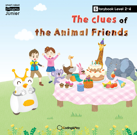 Coding Storybook Level2-4. The Clues of the Animal Friends
