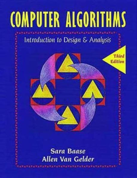 (오류)Computer Algorithms: Introduction to Design and Analysis