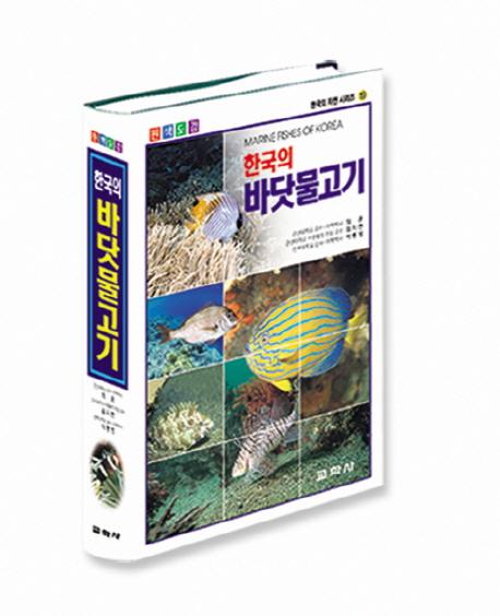 한국의 바닷물고기(원색도감)(한국의 자연시리즈 19)
