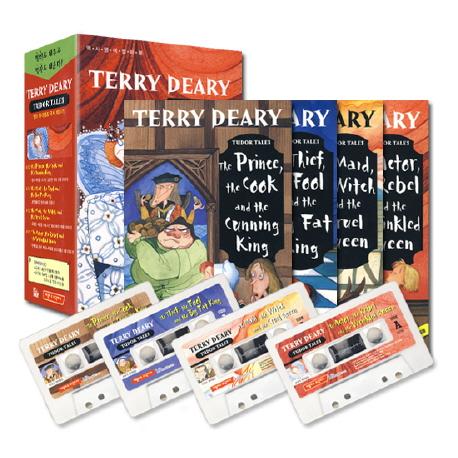 TUDOR TALES (교재 4개+ TAPE 4개)(TERRY DEARY'S)(챕터북)(전4권)