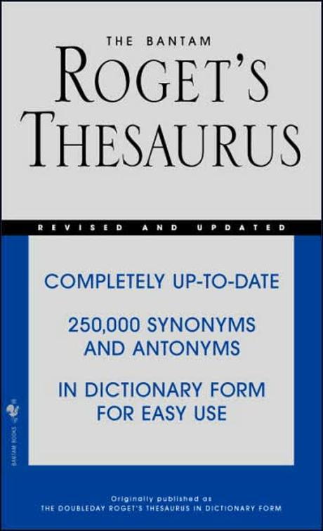 Bantam Roget's Thesaurus