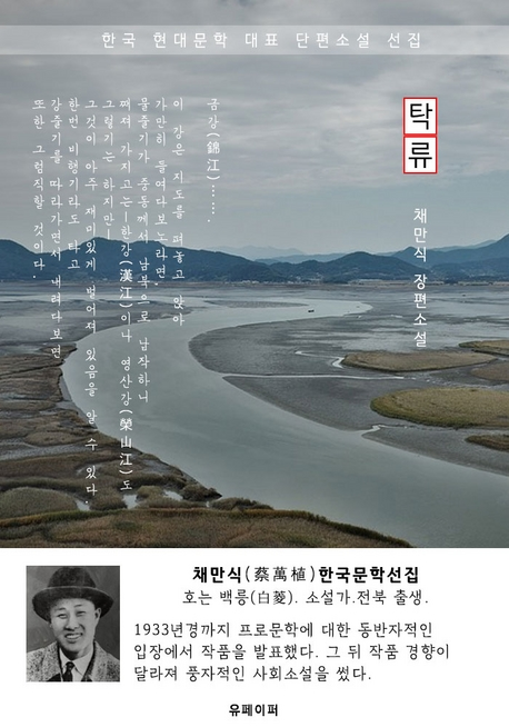 탁류(濁流) - 채만식 한국문학선집(서울대 권장 도서)