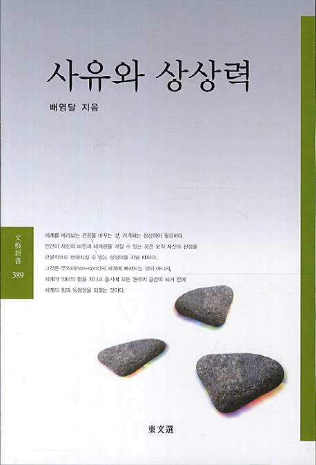 사유와 상상력(동문선 문예신서 389)