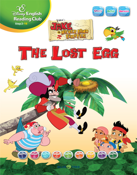 Disney Jake and the never land pirates - the lost egg