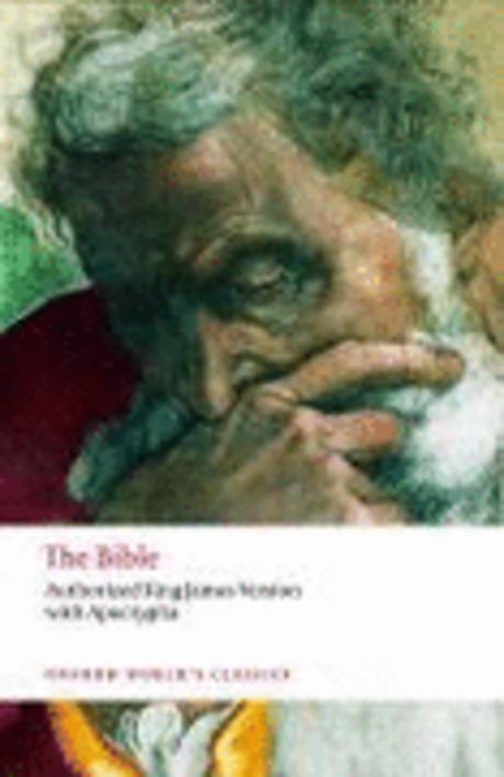 Bible:Authorized King James Version (Oxford World Classics)(New Jacket) 측면옆부분및 본문맨뒤 10장 페이지번호 밑부분 얼룩(얼룩은 최대한 지울 예정입니다) / 본문에 낙서는 없습니다 / 중상급수준