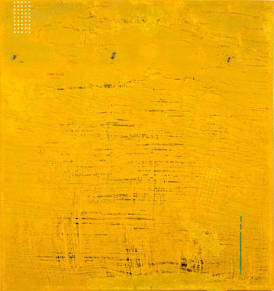 이정걸, [Time Slice-14Years], 124 × 120 cm, 혼합재료, 2014