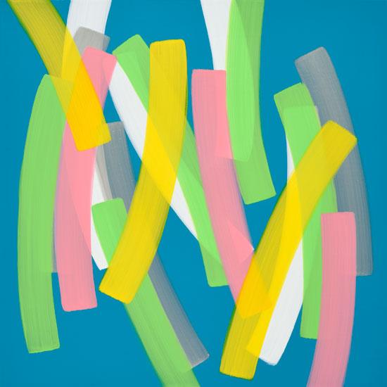 하태임, [Un Passage], 70 × 70 cm, 캔버스에 아크릴, 2016