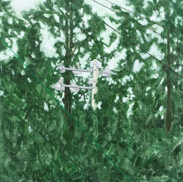 전병구 [Landscape] 50 x 50cm Oil on Canvas 2016