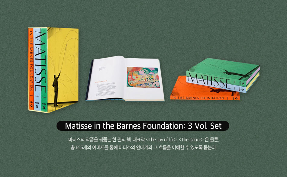 Matisse in the Barnes Foundation: 3 Vol. Set