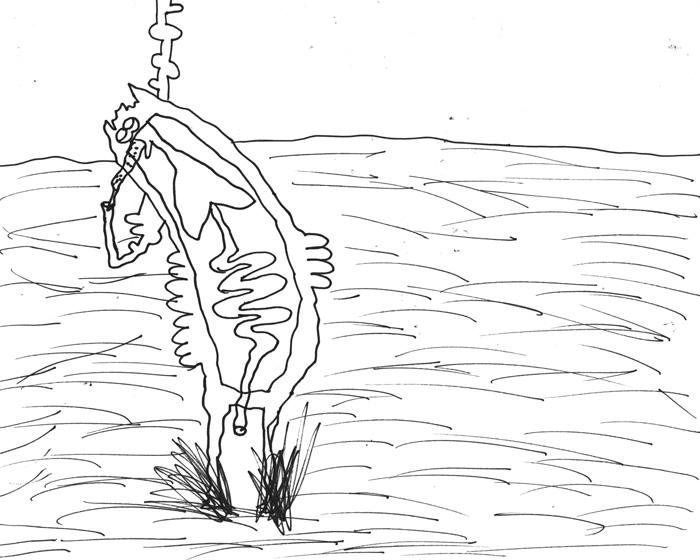 심래정, 불타는 목소리, 핸드 드로잉 애니메이션 스틸컷, 2016