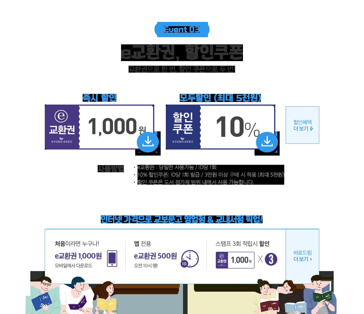 02. e-교환권, 할인쿠폰, 카드 혜택
